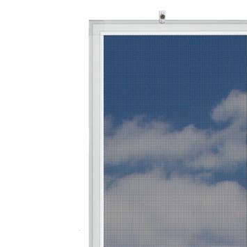 Bruynzeel vaste raamhor s500 pollengaas 125x155 cm wit