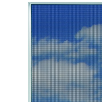 Bruynzeel inzethor raam s500 pollengaas 85x115 cm wit