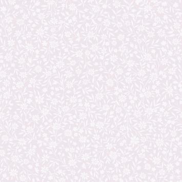 Vliesbehang Bloemen roze 32-618