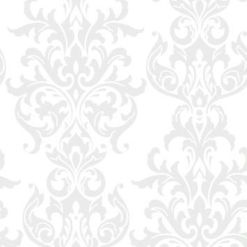 Vliesbehang Versailles wit 32-622