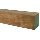 Tuinpaal hardhout FSC met punt 140x6x6 cm
