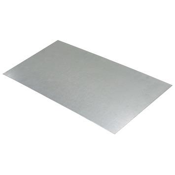 Plaat Gegalvaniseerd 100x50 cm