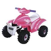 Elektrische quad 6V roze