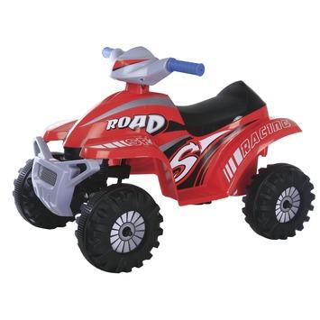 Elektrische quad 6V rood