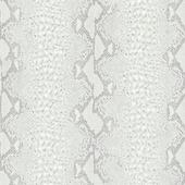 Graham & Brown Vliesbehang 32-648 Slangenprint Zilver