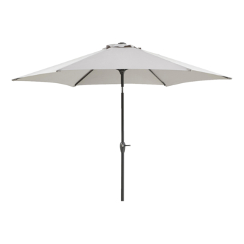 Parasol Florida Grijs Ø270 cm