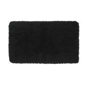 GAMMA badmat Lusanne zwart 90x60 cm