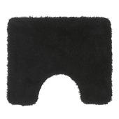 GAMMA toiletmat Lusanne zwart 60x50 cm
