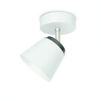 Philips plafondspot Dender LED 1X4W wit