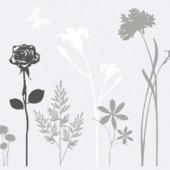 GAMMA Premium statische glasfolie blossom 334-0021 45x150 c