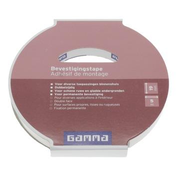 GAMMA bevestigingstape 19 mm 5 meter
