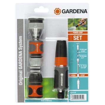 Gardena startset kunststof grijs met oranje