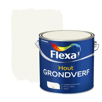 Flexa grondverf wit 2,5 liter