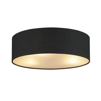 Plafondlamp Fenna doorsnee 40cm Zwart