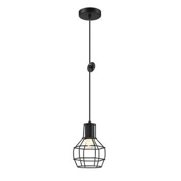Hanglamp Miran E27 40W Zwart