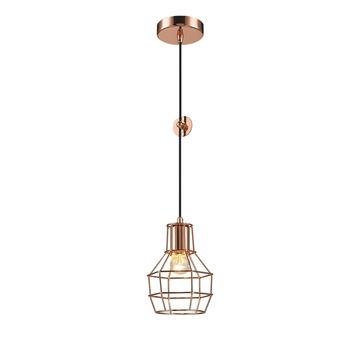 Hanglamp Miran E27 40W Koper