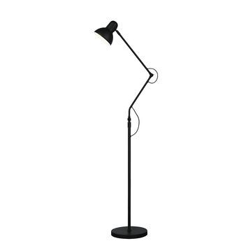 Vloerlamp Lois E27 40W Zwart