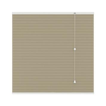 GAMMA plissé dupli lichtdoorlatend 6017 zand 120x180 cm