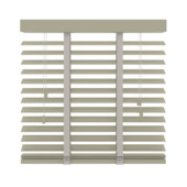 GAMMA horizontale jaloezie hout 50 mm 945 leem 200x220 cm