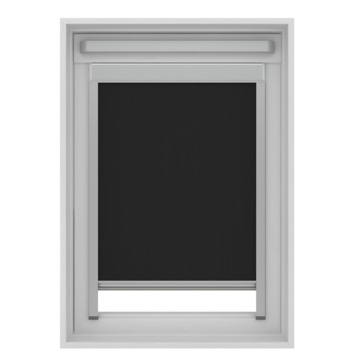 GAMMA dakraam rolgordijn VELUX 7005 zwart 55x78 cm
