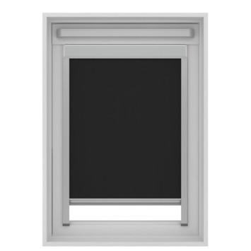 GAMMA dakraam rolgordijn VELUX 7005 zwart 134x140 cm
