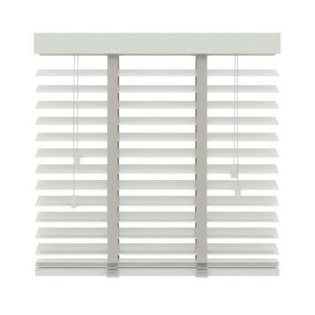 GAMMA horizontale jaloezie hout 50 mm 944 wit 60x180 cm