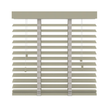 GAMMA horizontale jaloezie hout 50 mm 945 leem 60x180 cm