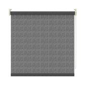 GAMMA rolgordijn dessin lichtdoorlatend 3577 zwart transparant 180x190 cm
