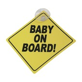 Baby on board bordje