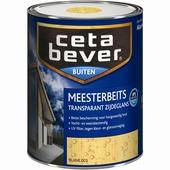 CetaBever meesterbeits transparant kleurloos zijdeglans 2,5 liter