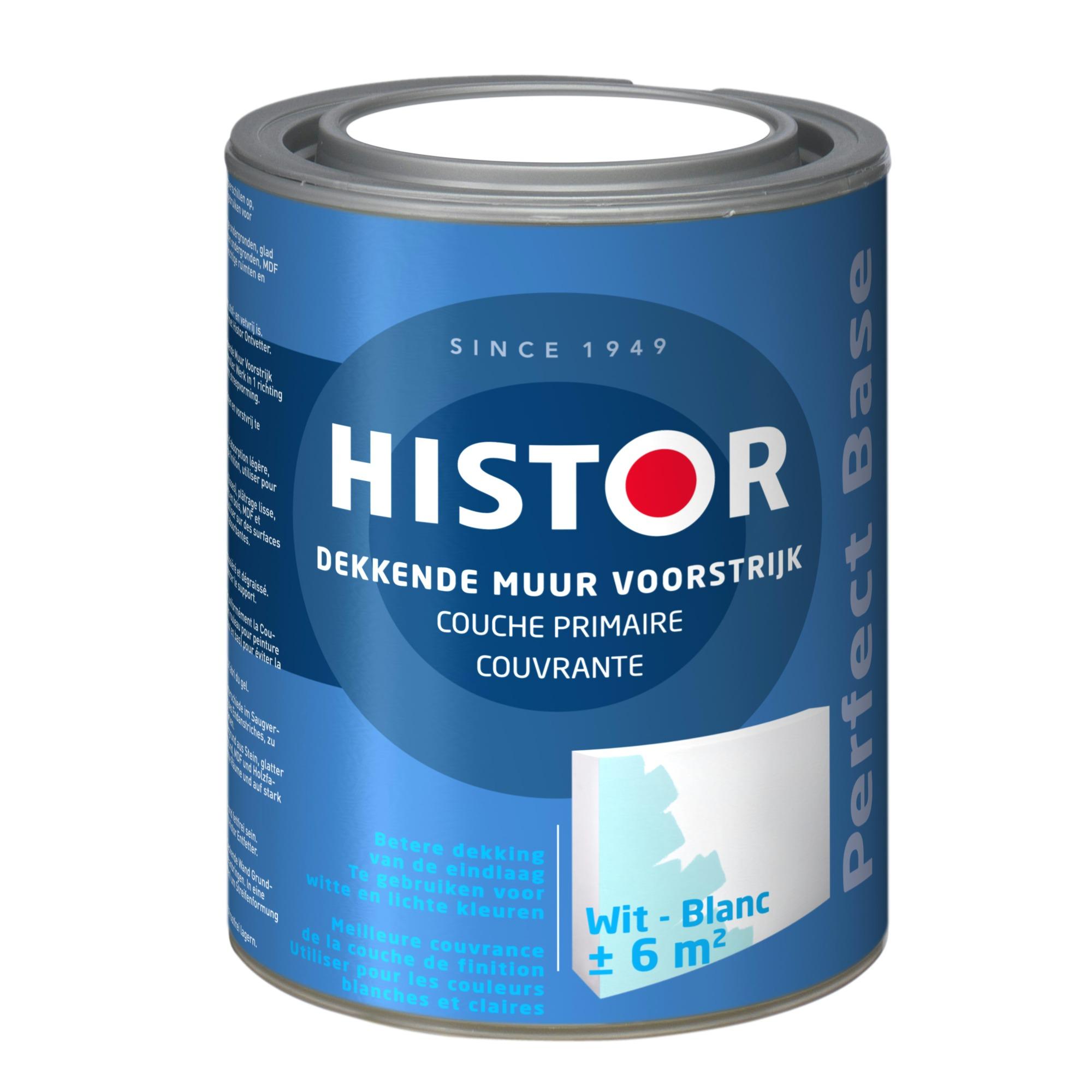 Histor muur voorstrijk dekkend (1 liter)