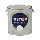 Histor Perfect Finish lak wit zijdeglans 2,5 liter