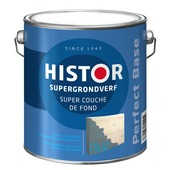 Histor Perfect Base Super grondverf grijs 2,5 liter