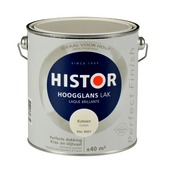 Histor Perfect Finish lak katoen RAL 9001 hoogglans 2,5 liter