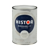 Histor Perfect Finish lak zonlicht RAL 9010 zijdeglans 1,25 liter