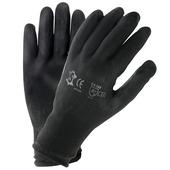 Werkhandschoen pu zwart L