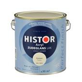 Histor Perfect Finish lak katoen RAL 9001 zijdeglans 2,5 liter