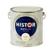 Histor Perfect Finish lak leliewit mat 2,5 liter