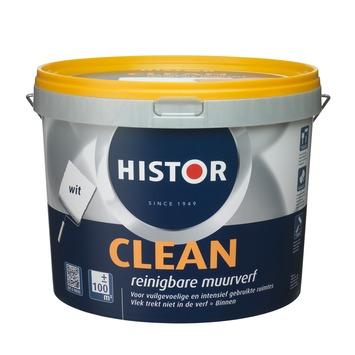 Histor Clean muurverf wit 10 liter