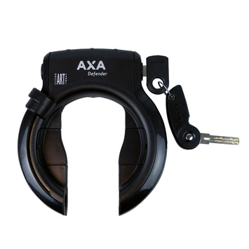 AXA ring defender black / black mud