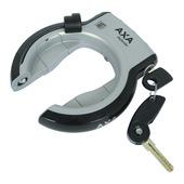 AXA ringslot ring defender silver / black mudguard