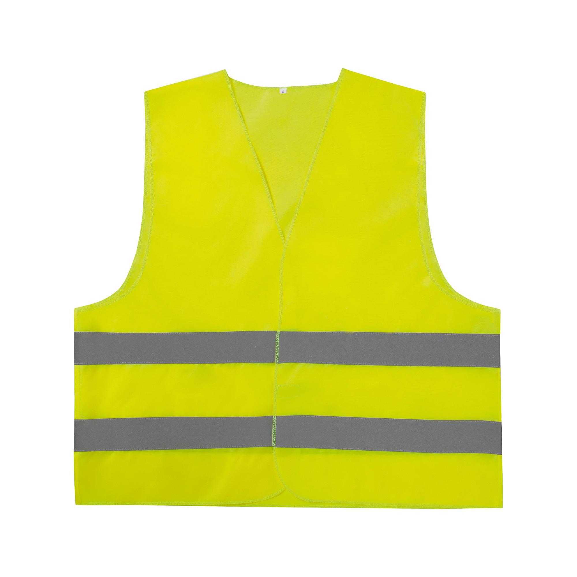 LifeHammer Veiligheidsvest EN 471 Helder-geel, Zilver (reflecterend)