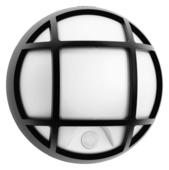 Philips Buitenlamp Eagle met bewegingssensor met raster zwart LED 3.5W