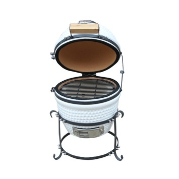 Patton Kamado Grill.Barbecue Patton Kamado Grill 13 Wit