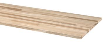 CanDo massief tafelblad eiken 250x61 cm 26 mm
