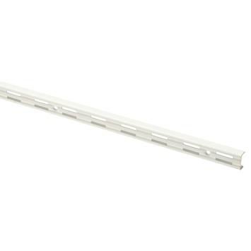 Handson rail dubbel wit 50 cm (2 stuks)