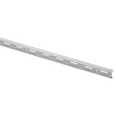 Handson rail dubbel mat zilver 100 cm (2 stuks)