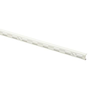 Handson rail dubbel wit 100 cm (2 stuks)