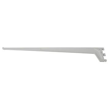 Handson drager enkel railsysteem mat zilver 35 cm