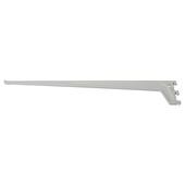 Handson drager enkel railsysteem mat zilver 60 cm
